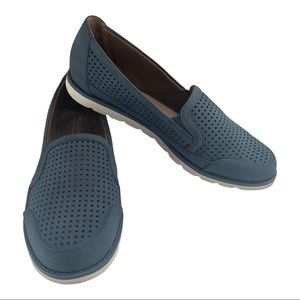 Natural Soul Perforated Sneaker Loafer Flat